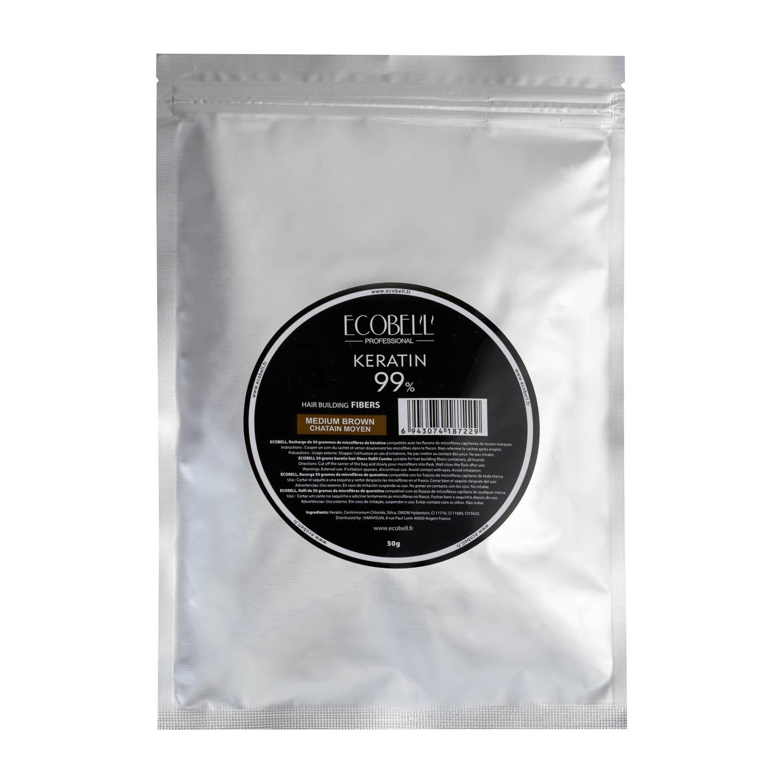 Poudre de Keratine Ecobell recharge