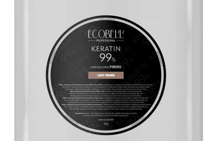 Ecobell 50 g Poudre de cheveux naturelle