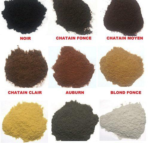 Recharge 25 g Poudre de cheveux Top Qualité